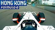 Onboard Lap Of HKT Hong Kong Track - Formula E