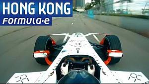 A bordo con HKT Hong Kong Track - Fórmula E