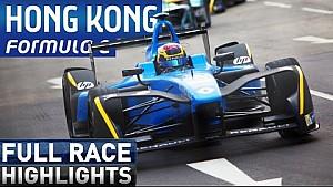 Hong Kong ePrix Race Highlights - Formula E
