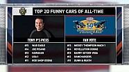 Review of the Top 20 Funny Cars of all time
