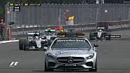 Le départ chaotique du GP du Mexique