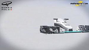 Giorgio Piola - 梅赛德斯2017规格前鼻翼