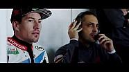 Stefan Bradl y Nicky Hayden prueba en MotorLand Aragón