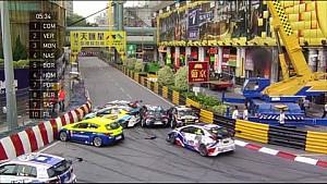 Macau Grand Prix 2016. Alle crashes en fouten