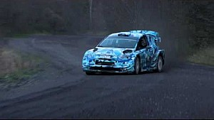 Ford test de Fiesta WRC 2017