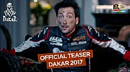 Teaser oficial do Dakar 2017
