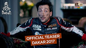 Teaser oficial do Dakar 2017