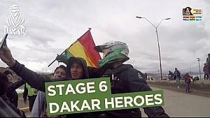 Dakar 2017: 6. Etap - Dakar kahramanları