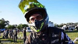Dakar 2017, l'esperienza di Manuel Lucchese