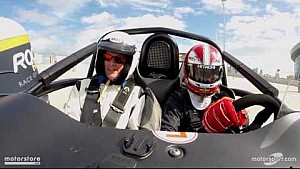 Castroneves testa carro da Corrida dos Campeões
