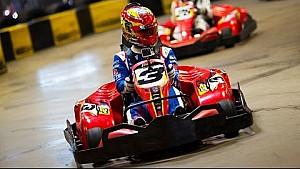 Karting: piloti di F.E contro