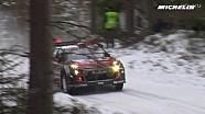 米其林出品-WRC-2017瑞典拉力赛-测试日集锦