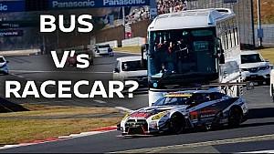 World's Craziest Bus Ride! The Circuit Safari