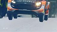WRC-2017瑞典拉力赛-奥斯伯格柯林坡跳跃