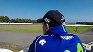Yamaha op Phillip Island, testdag 2