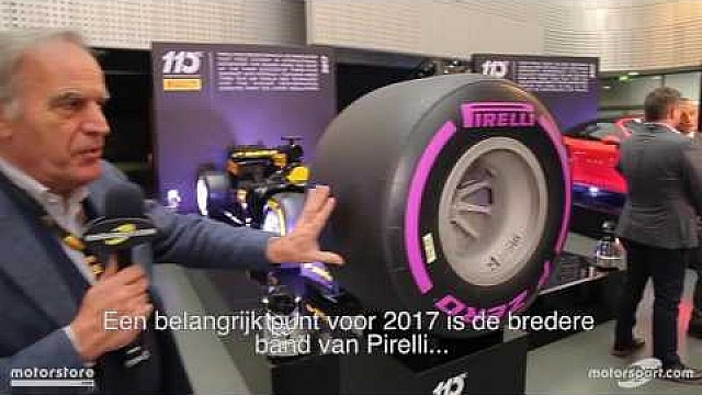 Formule 1 Piola analyseert de nieuwe F1-banden