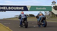 Phillip Island MotoGP test with Jack Miller