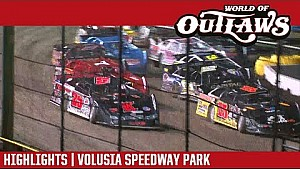 World of Outlaws Craftsman Late Models Volusia Speedway Park February 24, 2017 | Highlights