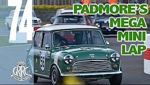 Goodwood record holder's on edge Mini lap