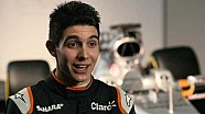 Sahara Force India, Esteban Ocon temporada 2017
