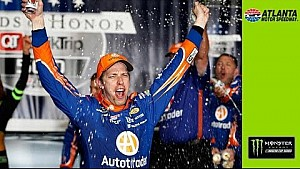 Keselowski thrilled to get an early victory