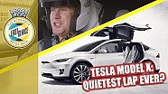 How fast can a Tesla model X lap Goodwood?