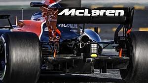 A 2017-es F1-es autók, hátulról: WOW