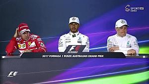2017 Avustralya GP sıralama turları basın toplantısı