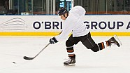 He Shoots, He Scores! Valtteri on Ice in Melbourne