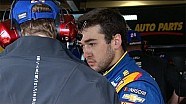 Chase Elliott's No. 24 damaged in practice