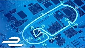 Mexico City ePrix track map - Formula E