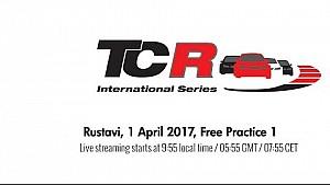 TCR Rustavi - Free practice 1