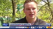 Cole Custer - 2017 Bristol - Interview with WATE (ABC) Knoxville, TN