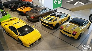 Why are there yellow Lamborghinis everywhere?