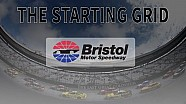 Battling it out at Bristol motor speedway
