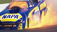 Champ Ron Capps powers to victory in wild finish in Houston