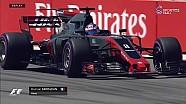 Rusya GP FP3 - Grojean Telsiz Konuşması