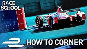 Escuela de carreras: cómo tomar una curva - Fórmula E