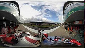 360º Video: WEC Silverstone Pit Stop - Spirit of Race Car #54