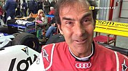 Emanuele Pirro all'Historic Minardi Day