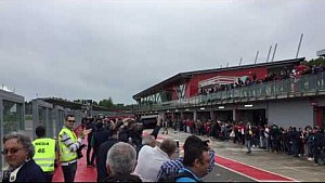 Giancarlo Minardi fährt F1