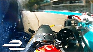 Monaco: Crash mit Vergne & Piquet Jr.