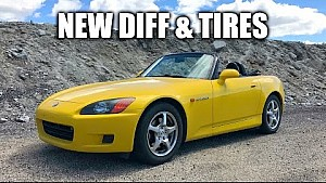 Honda S2000 review - Upgraded differential and tires