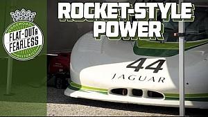This 750bhp Jaguar XJR-7 has astronomical power