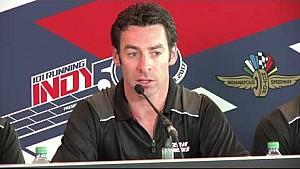 Team Penske Indy 500 practice day 5 news conference