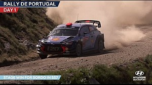 Rally de Portugal day one - Hyundai Motorsport 2017