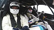 BMW-Sportchef im DTM-Renntaxi