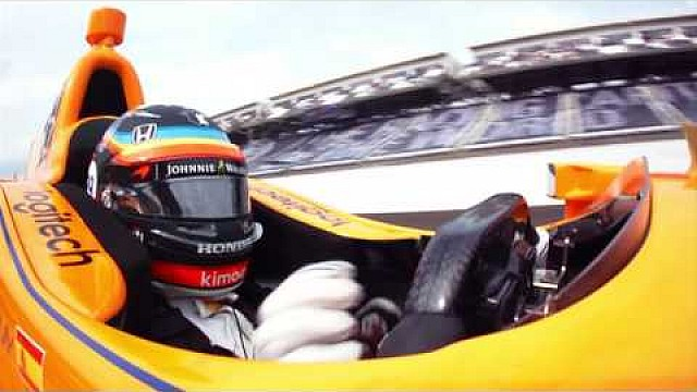 IndyCar Onboard-Video: Alonsos Qualifying zum Indy 500