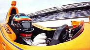 Indy 500: Qualifying, Onboard mit Alonso