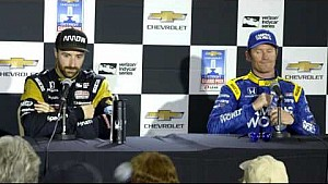 Hinchcliffe and Dixon Post Detroit Grand Prix race 1 news conference